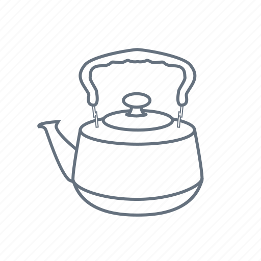 boil, drink, kettle, kitchen, pot, restaurant, teakettle icon