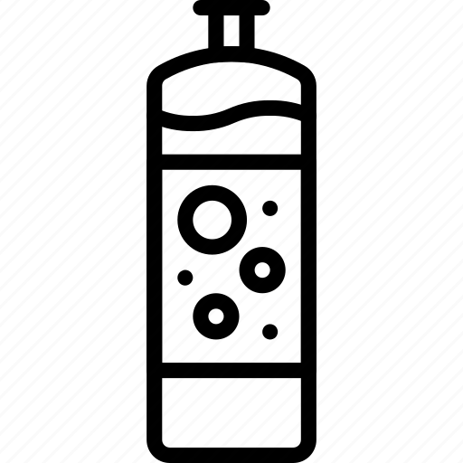 kitchen, liquid, objects, outline, wasing icon
