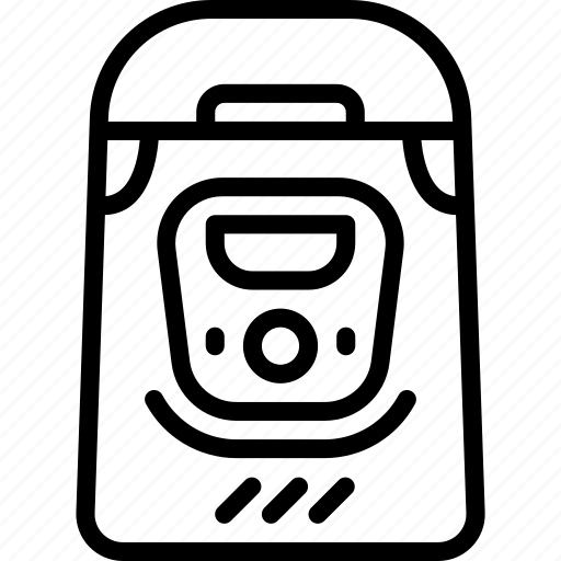 bread, kitchen, maker, objects, outline, utility icon