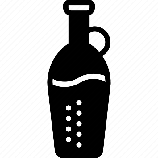 bottle, drink, juice, kitchen, objects, solid icon