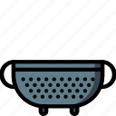colander, ultra, objects, kitchen icon