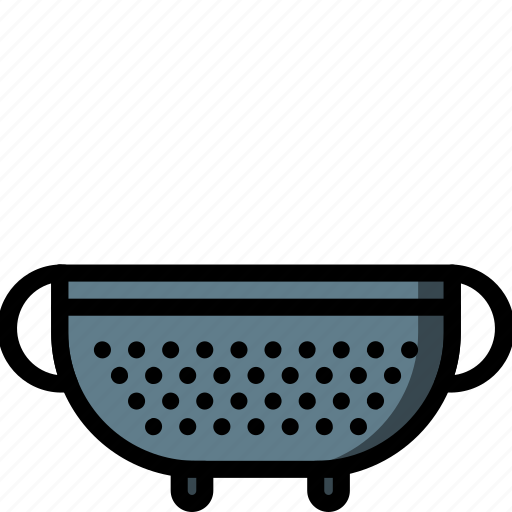 colander, kitchen, objects, ultra icon
