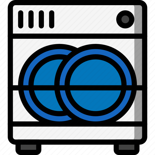 dish, kitchen, objects, ultra, utility, washer icon
