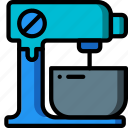 kitchen, mixer, objects, ultra, utility icon