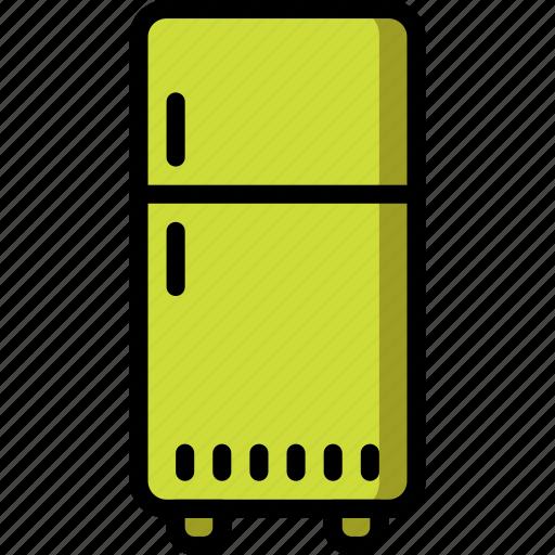 freezer, fridge, kitchen, objects, ultra, utility icon