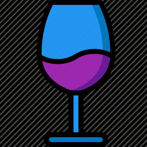 glass, kitchen, objects, ultra, wine icon