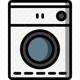 clothes, dryer, kitchen, objects, ultra, utility icon