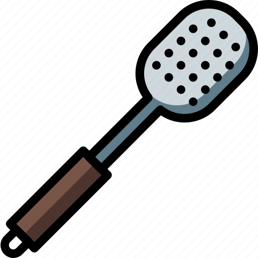 kitchen, objects, serving, spoon, ultra icon