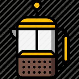 kitchen, objects, percolator, ultra icon