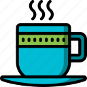coffee, cup, kitchen, objects, tea, ultra icon
