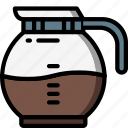 coffee, jug, kitchen, objects, ultra icon