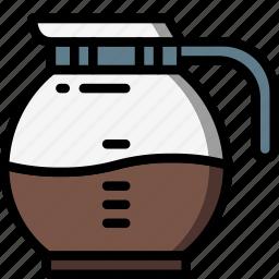 coffee, jug, kitchen, objects, ultra icon