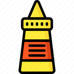 condiments, kitchen, mustard, objects, ultra icon