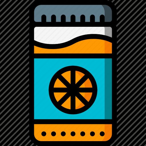 breakfast, jar, kitchen, marmalade, objects, ultra icon