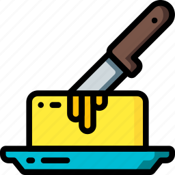 butter, kitchen, objects, spread, ultra icon