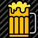 ale, drink, kitchen, objects, pint, pub, ultra icon