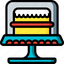 food, objects, stand, cake, ultra, desert, kitchen icon