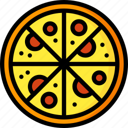 food, kitchen, objects, pizza, tray, ultra icon