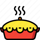 food, kitchen, objects, pie, pot, ultra icon