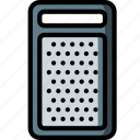 cheese, grater, kitchen, objects, ultra icon