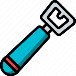 bottle, kitchen, objects, opener, ultra icon
