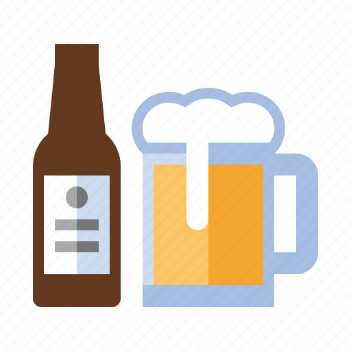 alcohol, bar, beer, drink, food, mug, pub icon