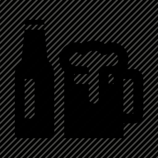 acohol, bar, beer, drink, food, mug, pub icon