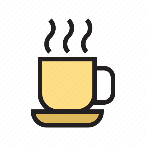 cup, filled, food, kitchen, pair, tea, utensil icon