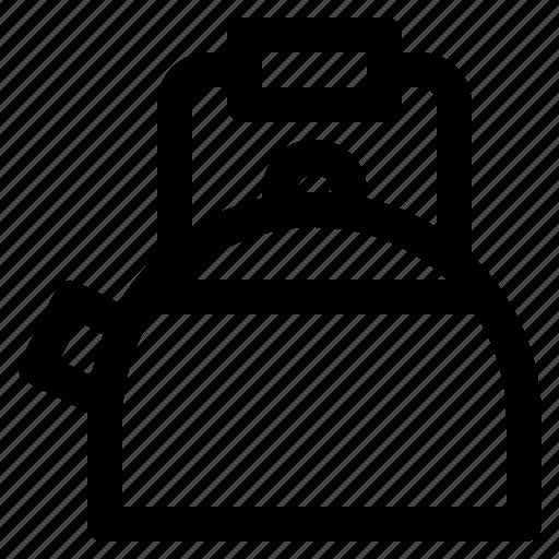 kettle, kitchen, steam icon