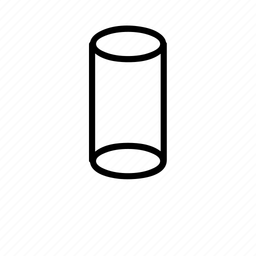 cup, cylinder, drink, glass, water icon