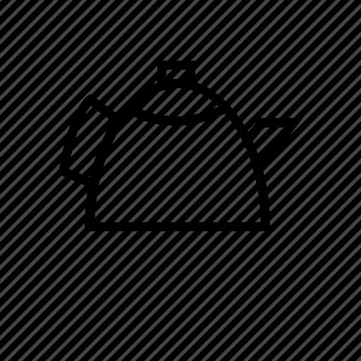 drinks, kettle, tea, tea kettle, teapot icon