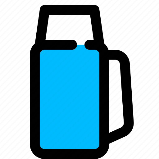 flask, outdoor, thermos, vacuum icon