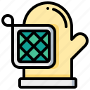 alove, cooking, kitchen, potholder, tool icon