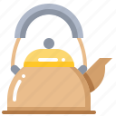 cooking, kettle, kitchen, tool icon