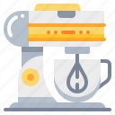 cooking, kitchen, mixer, tool icon