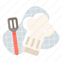 chef, cook, cooking, food, hat, kitchen, restaurant icon