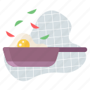 chef, cook, cooking, egg, food, meal, restaurant icon