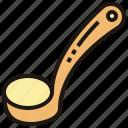 cookware, ladle, scoop, soup, utensil