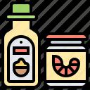 bottle, powder, sauce, seasoning, tasty