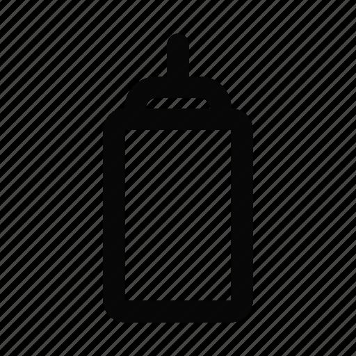 Food, ketchup, kitchen, mustard, sauce, sauce bottle icon - Download on Iconfinder
