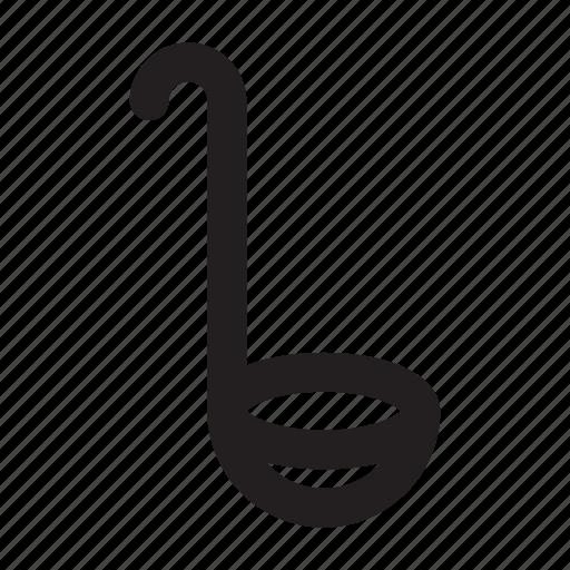 Cooking, kitchen, ladle, soup, soup ladle, spoon icon - Download on Iconfinder