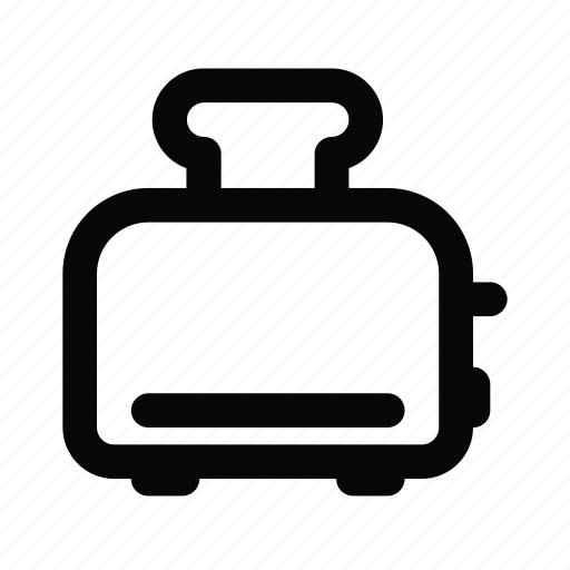 bread, kitchen, kitchenware, sandwich, toast, toaster icon
