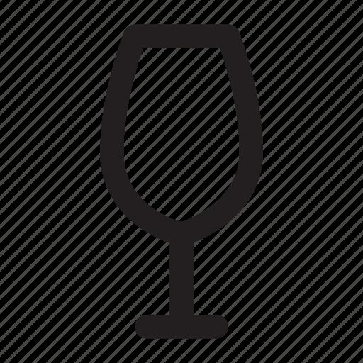 Drink, glass, kitchenware, water, wine, wineglass icon - Download on Iconfinder