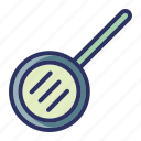 cooking, fryin, kitchen, pan, tools icon