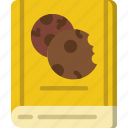 book, cooking, food, kitchen icon