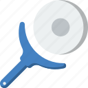 cooking, food, kitchen, knife, pizza icon