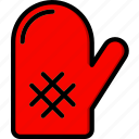 cooking, food, glove, kitchen icon