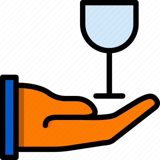 cooking, food, give, glass, kitchen icon