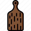 board, cooking, cutting, food, kitchen icon