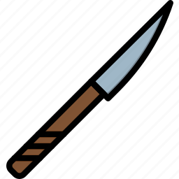 cooking, food, kitchen, knife icon
